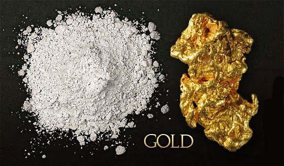 Monoatomisches Gold